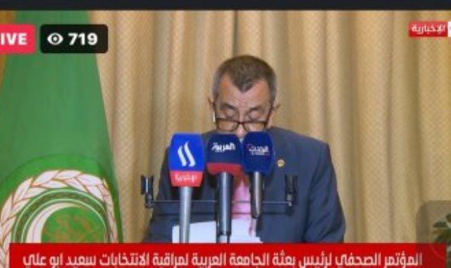 الأمين العام المساعد لجامعة الدول العربية سعيد أبو على