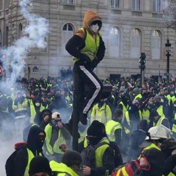 احتجاجات فى فرنسا - ارشيفية