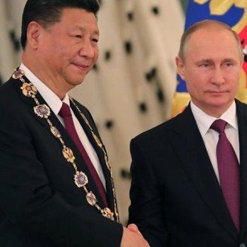 رئيسا الصين وروسيا