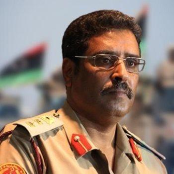 المتحدث باسم الجيش الوطنى الليبى اللواء أحمد المسمارى