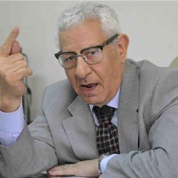 مكرم محمد أحمد رئيس المجلس الأعلى لتنظيم الإعلام