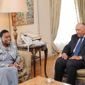 وزير الخارجية يلتقى نظيرته الكينية