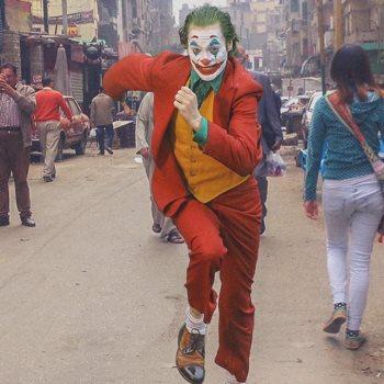 الجوكر في شوارع مصر