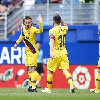 إيبار ضد برشلونة