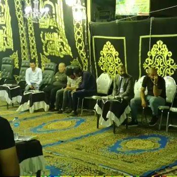 أبو رجيلة والميرغني في عزاء