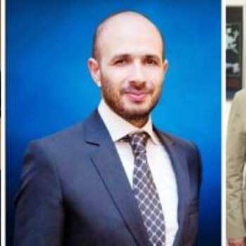 الدكتور محمد العزازى وخالد الطوخى والدكتورة ياسمين الكاشف