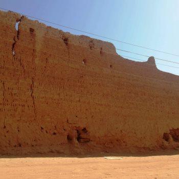 جانب من السور الآثري