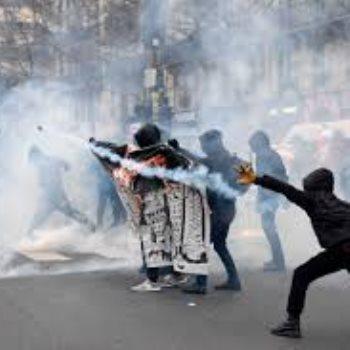اشتباكات فرنسا