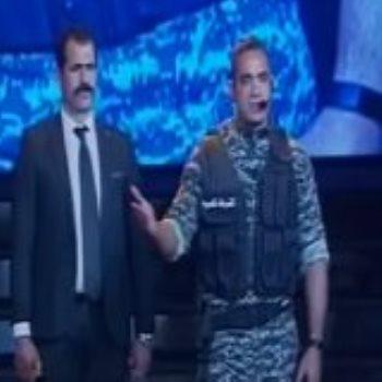أمير كرارة بزي ميري بحفل الشرطة