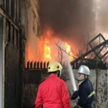 حريق الكرادة