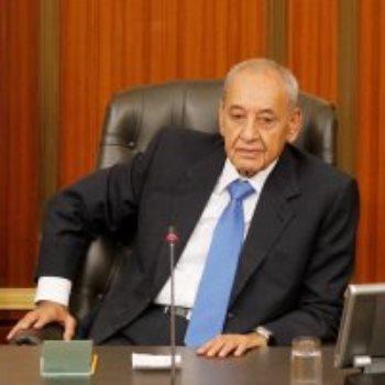 رئيس البرلمان اللبنانى نبيه برى