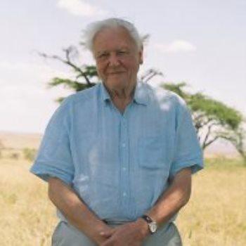 عالم الطبيعة البريطانى ديفيد أتينبورو