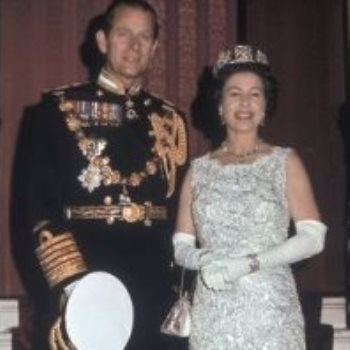 الملكة اليزابيث والأمير فيليب