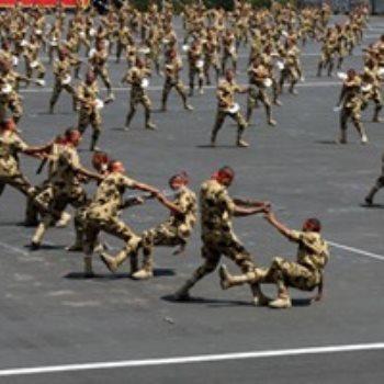 جانب من تخريج الكليات العسكرية _ أرشيفية