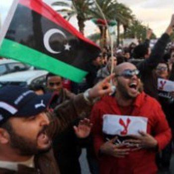 مظاهرات ليبيا - أرشيفية