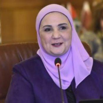 نفين القباج – وزيرة التضامن الاجتماعي