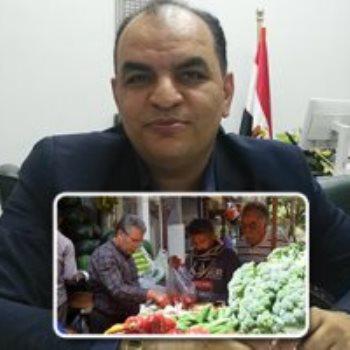 الدكتور احمد العطار رئيس الحجر الزراعى