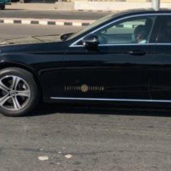 محمد صلاح يصل مطار الغردقة الدولي