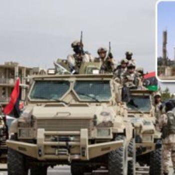 حقول النفط والجيش الليبى