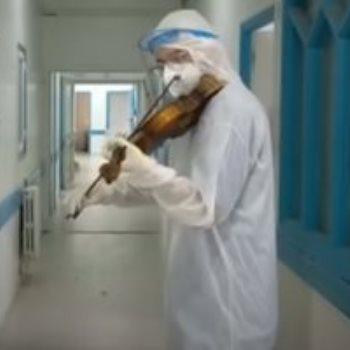 الطبيب يالطبيب يعزف فى اروقة المستشفى فى اروقة المستشفى