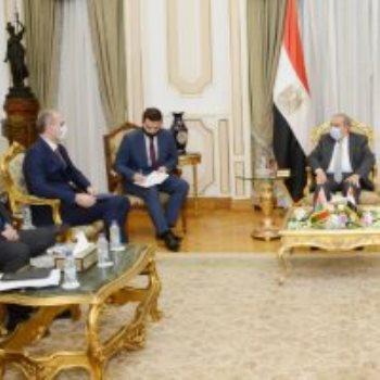 المهندس محمد أحمد مرسى - وزير الدولة للإنتاج الحربى