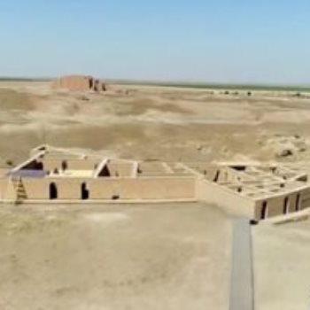 منظر عام لموقع أور الأثري القديم