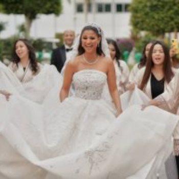 جانب من حفل زفاف دينا داش