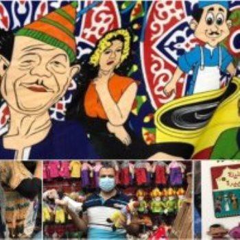 زينة رمضان فى محلات حارة اليهود