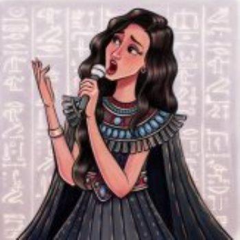 أميرة سليم بريشة باسل القاضى