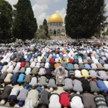 الصلاة فى المسجد الأقصى ـ صورة أرشيفية