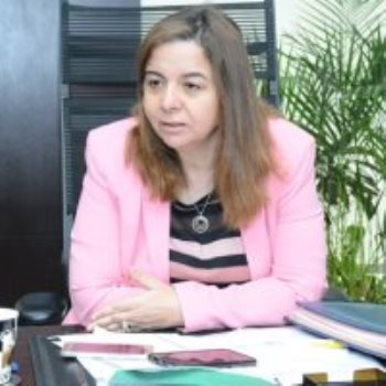 مى عبد الحميد رئيس صندوق الإسكان الاجتماعي
