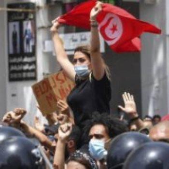 مظاهرات تونسية -أرشيفية