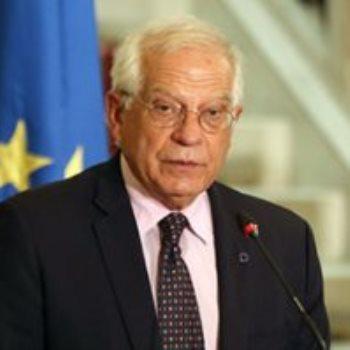 جوزيب بوريل الممثل الأعلى للشؤون الخارجية الأوربية
