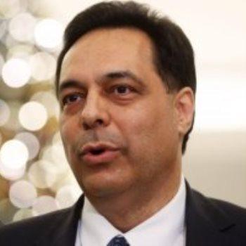 حسان دياب رئيس الحكومة اللبنانية السابق