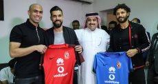 عبد الله السعيد وحسام غالي وتركي ال الشيخ واحمد فتحي