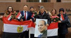 مشاركة المصريين فى الخارج بالانتخابات الرئاسية