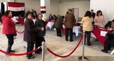 تصويت المصريين فى الخارج