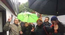 الجالية المصرية بميلانو يتحدون المصر للمشاركة فى الانتخابات
