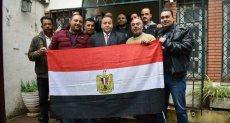 المصريين بالجزائر يشاركون بالانتخابات الرئاسية