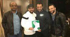 توقيع عبد الله السعيد للزمالك