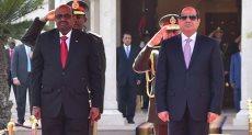 الرئيس السيسي ونظيره السوداني