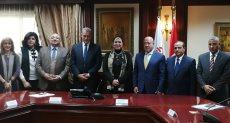 جهاز المشروعات خلال توقيع الإتفاق مع البنك الأهلي