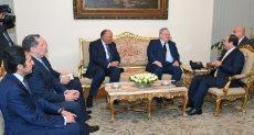 استقبال الرئيس لوزير الخارجية اليوناني