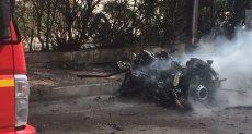 انفجار سيارة مفخخة بمنطقة رشدى بوسط الإسكندرية