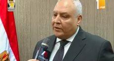 المستشار لاشين إبرهيم رئيس الهيئة الوطنيه للانتخابات