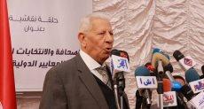 الكاتب مكرم محمد أحمد رئيس المجلس الأعلى لتنظيم الصحافة والإعلام