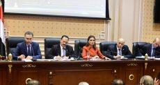 وزيرة الاستثمار سحر نصر داخل مجلس النواب