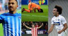 اللاعبين المصريين في الخارج