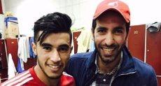 محمد حسن مع أبو تريكة