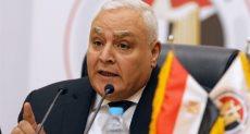 المستشار لاشين إبراهيم رئيس اللجنة الوطنية للانتخابات